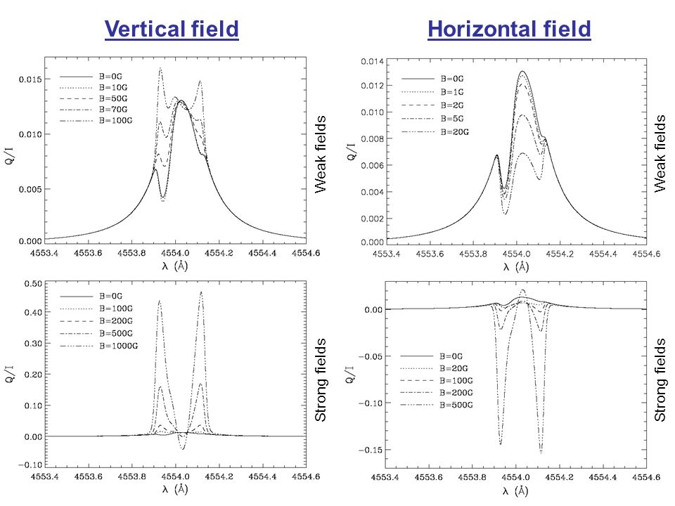 Vertical field Horizontal field