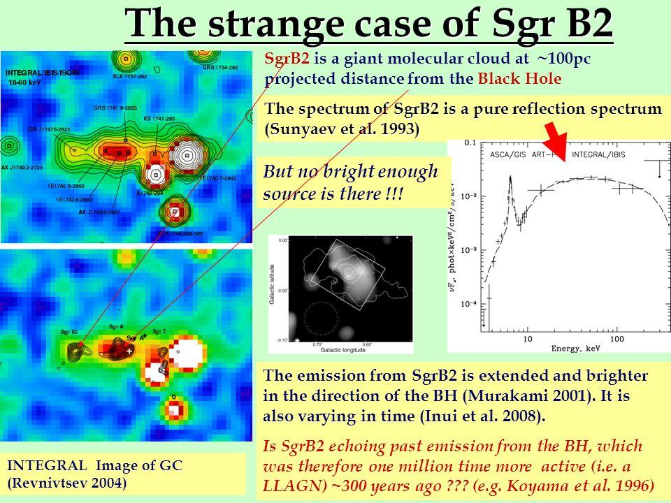 The strange case of Sgr B2