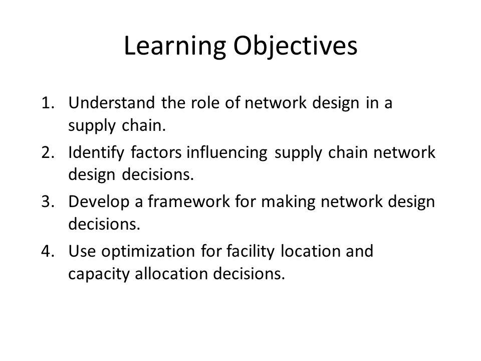 understanding the supply chain sunil chopra Sunil chopra kellogg  chapter 1 understanding the supply chain 13  11 what is a  chapter 3 supply chain drivers and metrics 52.