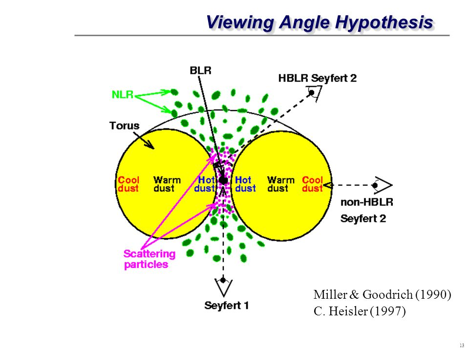 Viewing Angle Hypothesis