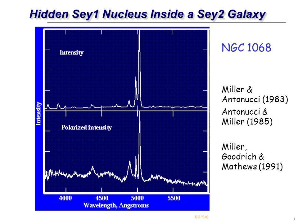 Hidden Sey1 Nucleus Inside a Sey2 Galaxy