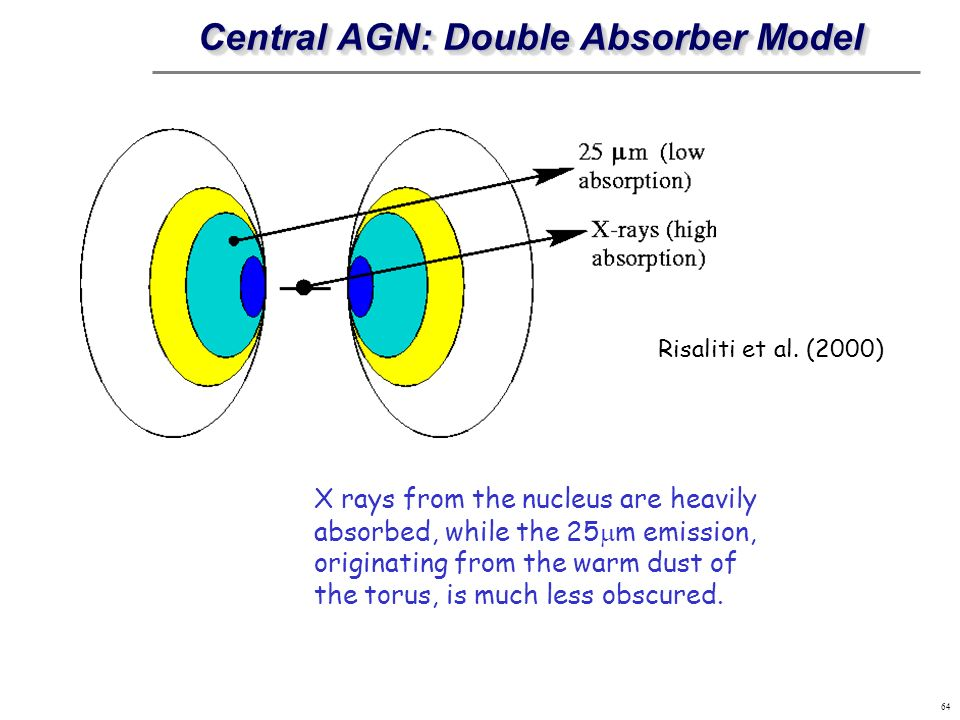 Central AGN: Double Absorber Model