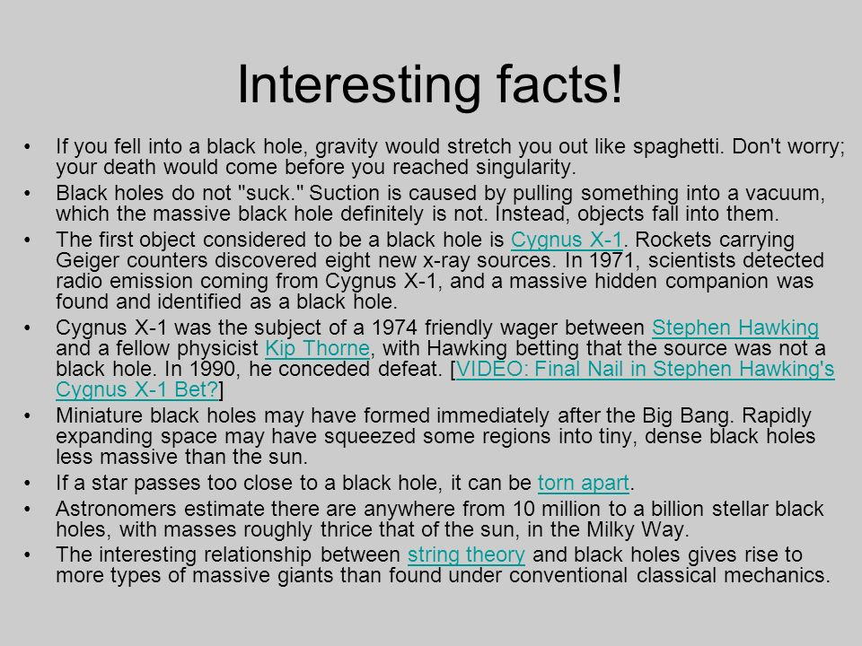 Black Hole Theory >> Black Holes: Facts, Theory, and Definition - ppt video online download