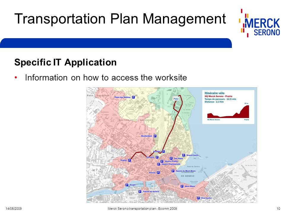 Transportation Plan Management