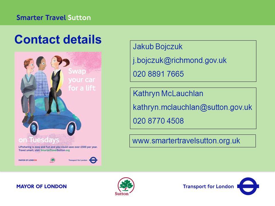 Contact details Jakub Bojczuk j.bojczuk@richmond.gov.uk 020 8891 7665