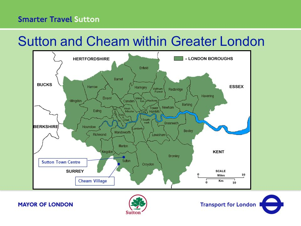 Sutton and Cheam within Greater London