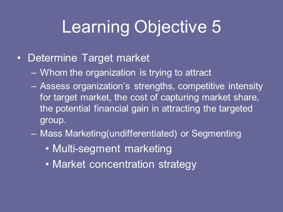marketing strategy to attract students pdf
