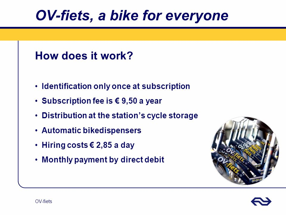 OV-fiets, a bike for everyone