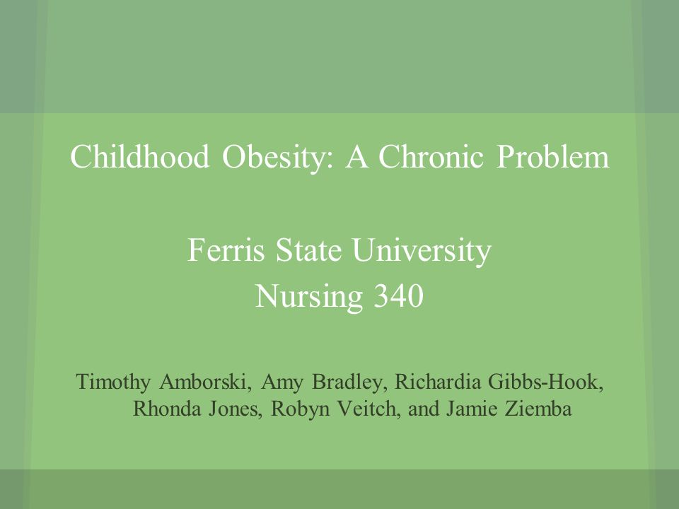childhood obesity evidence based nursing research Recently published articles from journal of pediatric nursing citescore values are based on citation counts in a given year childhood obesity.