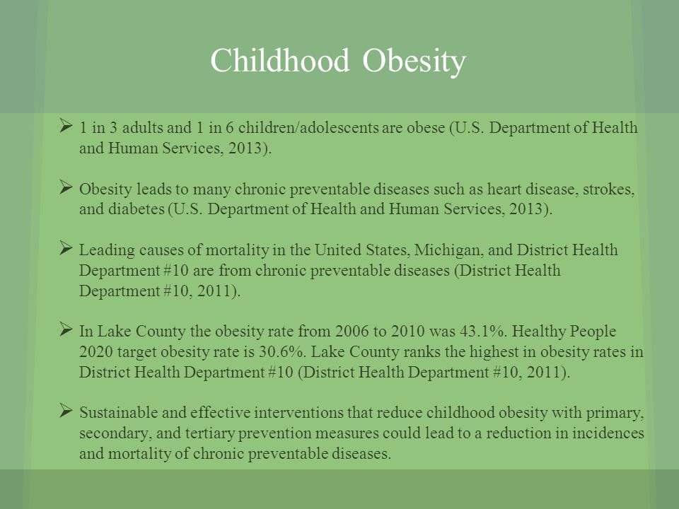 child obesity causes and prevention Get the facts about childhood obesity and learn how we are reducing childhood obesity in  that's no way to be a child  childhood obesity prevention is a.