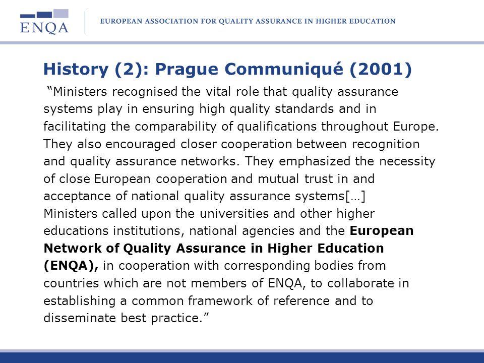History (2): Prague Communiqué (2001)