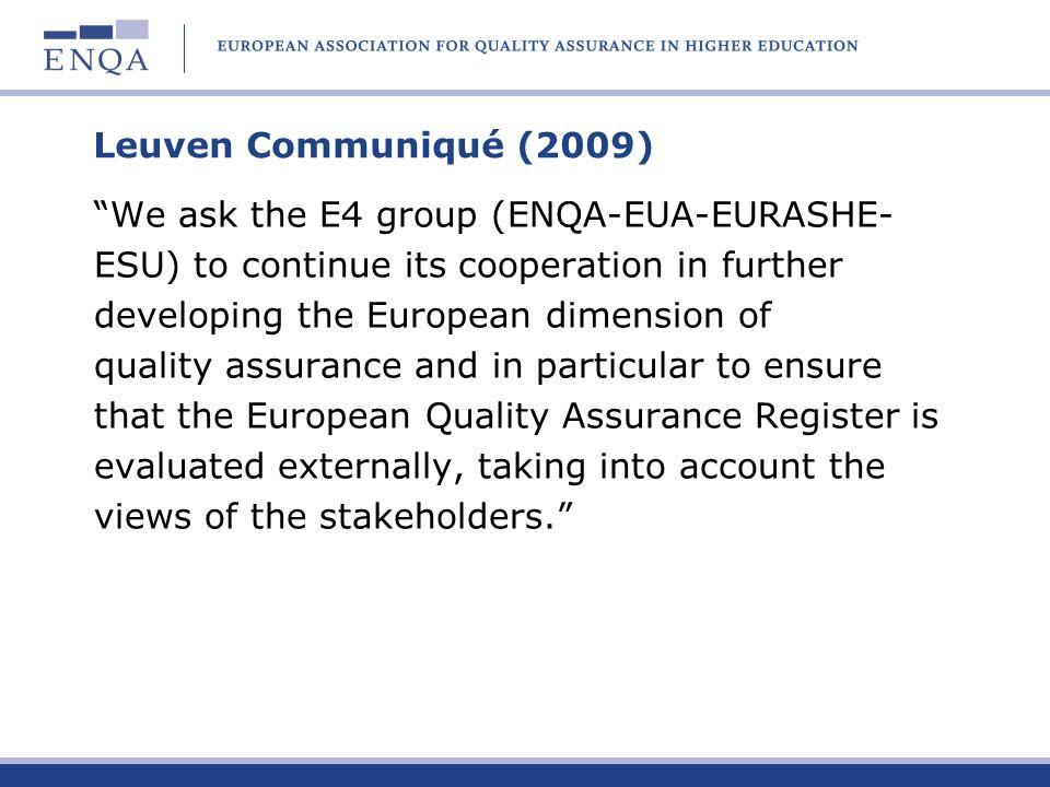 Leuven Communiqué (2009)