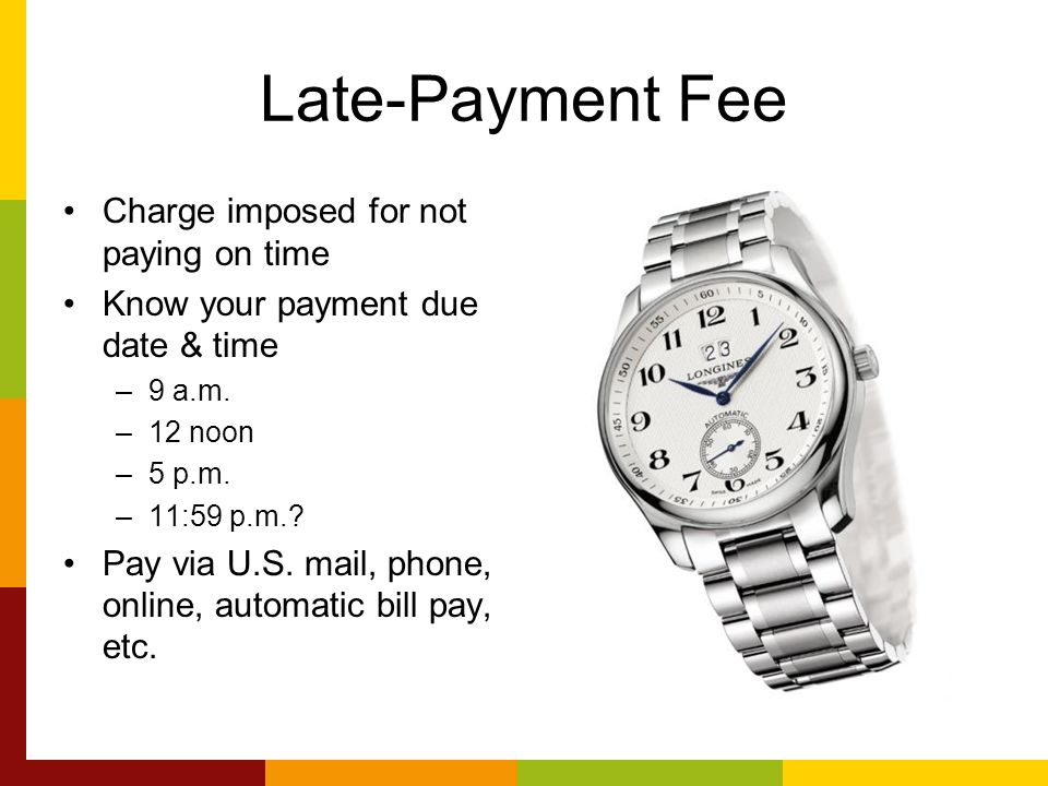 Auto Bill Payer Phone Number : Shopping for a credit card ppt download