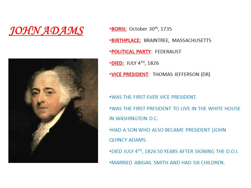 George washington born february 22 ppt video online download for Did george washington live in the white house
