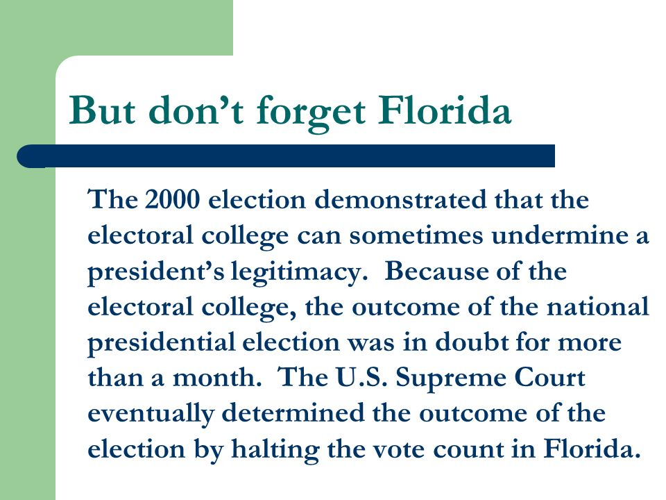 the electoral college advantage n disdavantage n solution The united states electoral college is a body of electors established by the united states constitution, constituted every four years for the sole purpose of electing the president and vice president of the united states.