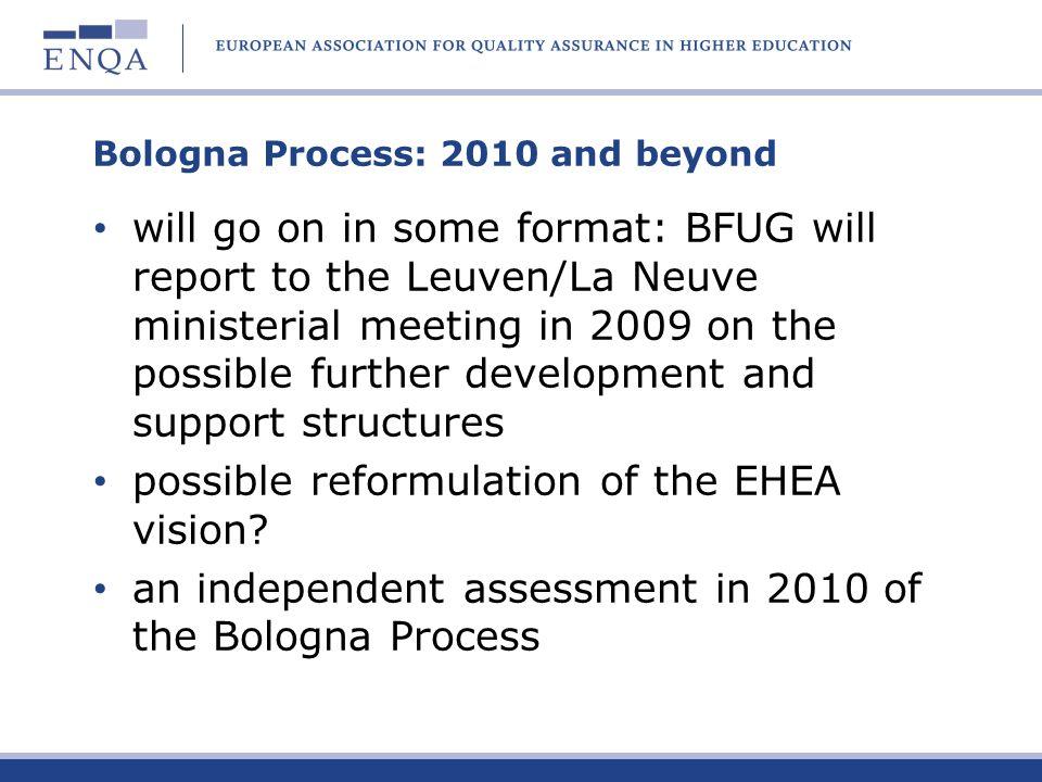 Bologna Process: 2010 and beyond