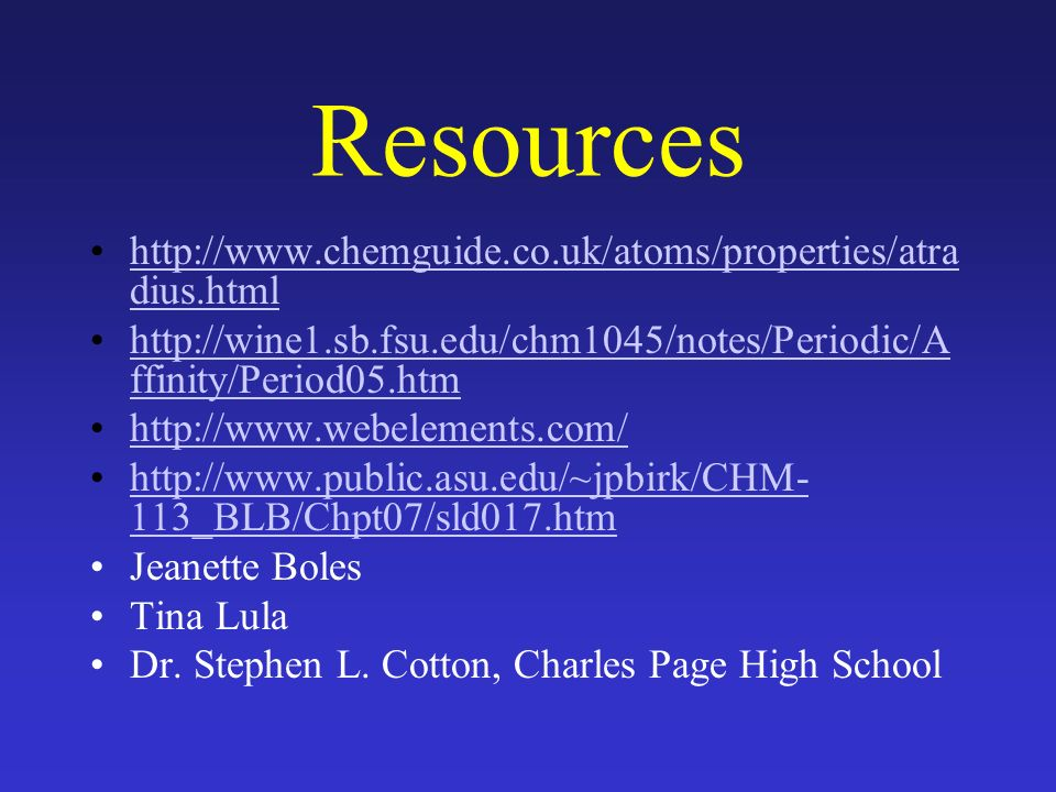 Chapter 6 the periodic table general chemistry ppt download resources httpchemguideatomsproperties urtaz Images