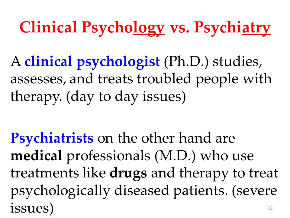 psychology vs psychiatry Here is a quick comparison of forensic psychology vs forensic psychiatry so you can determine which career path might be a good fit for you.