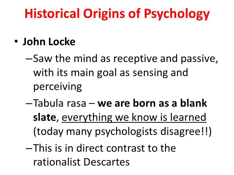 history of psychology john locke and john