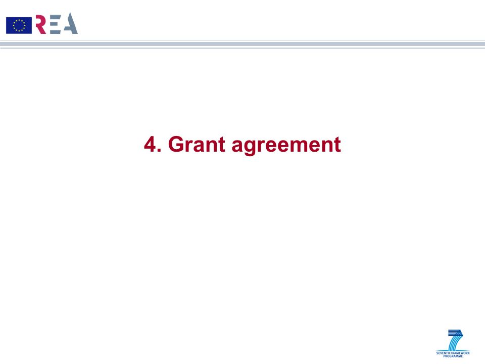 4. Grant agreement 19