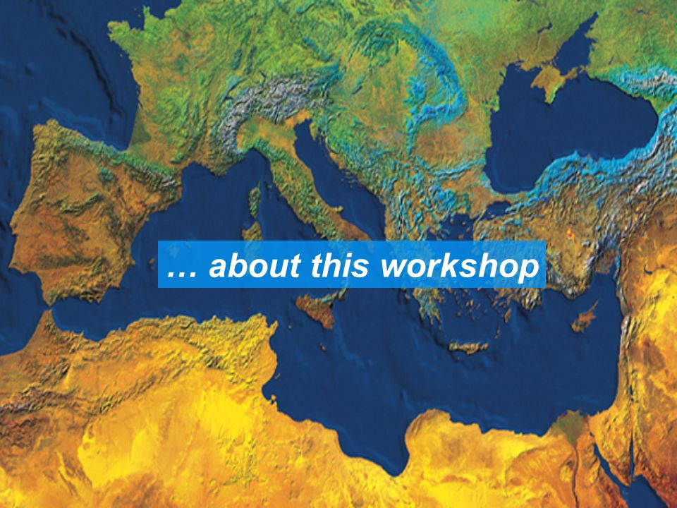 … about this workshop
