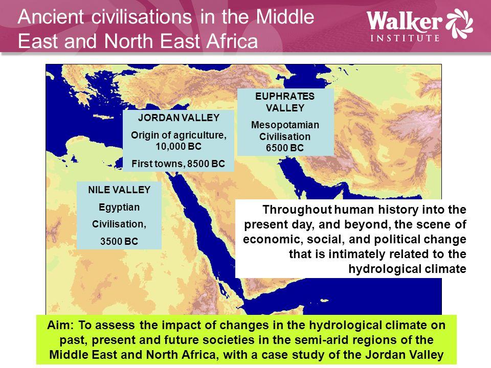 Origin of agriculture, 10,000 BC Mesopotamian Civilisation 6500 BC