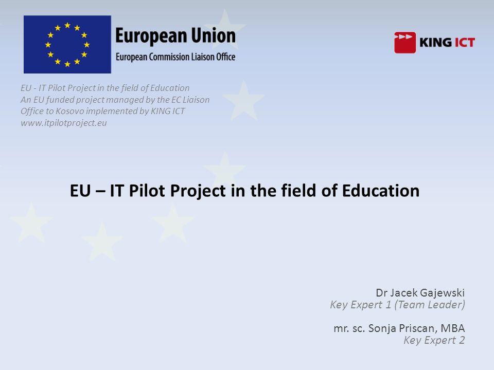 EU – IT Pilot Project in the field of Education