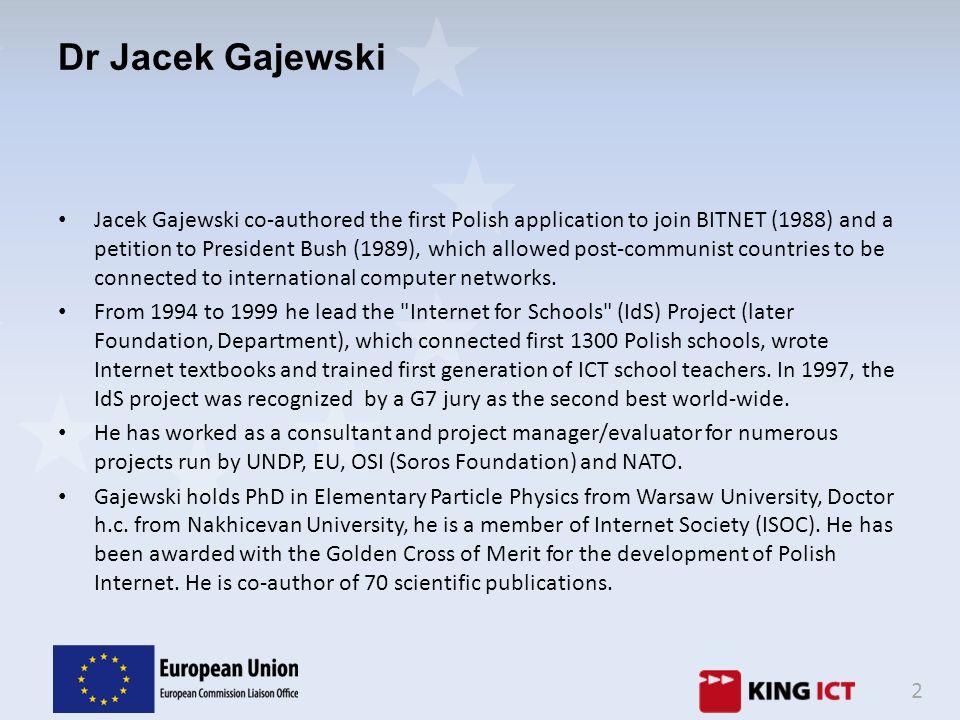 Dr Jacek Gajewski