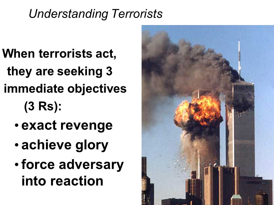 an understanding of terrorism Understanding terrorism: challenges, perspectives, and issues 3th (third) edition library download book (pdf and doc) you if you are having trouble using the website or are unable to find a particular title.