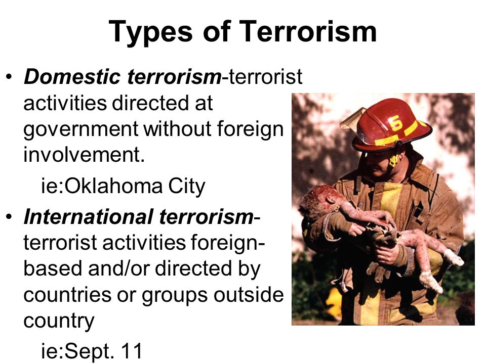 terrorism international domestic cyber