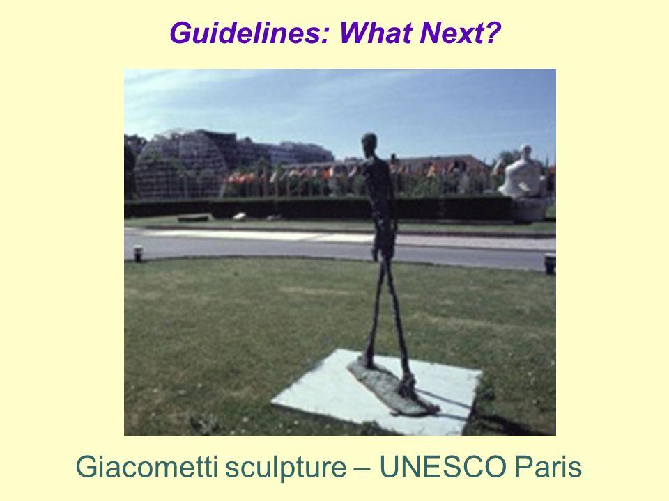 Giacometti sculpture – UNESCO Paris