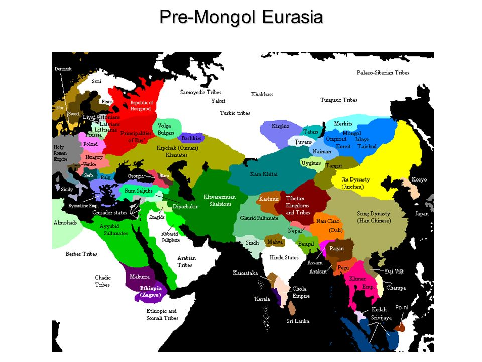 Mongol Empire Natural Resources