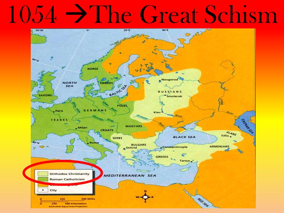 1054 The Great Schism