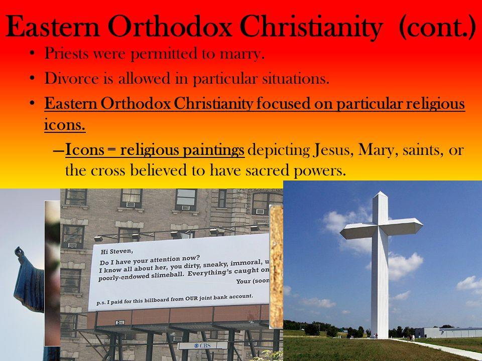 Eastern Orthodox Christianity (cont.)