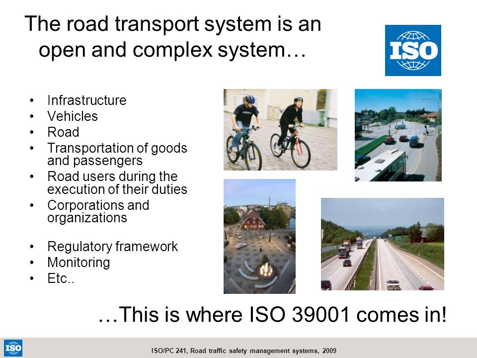The road transport system is an open and complex system…