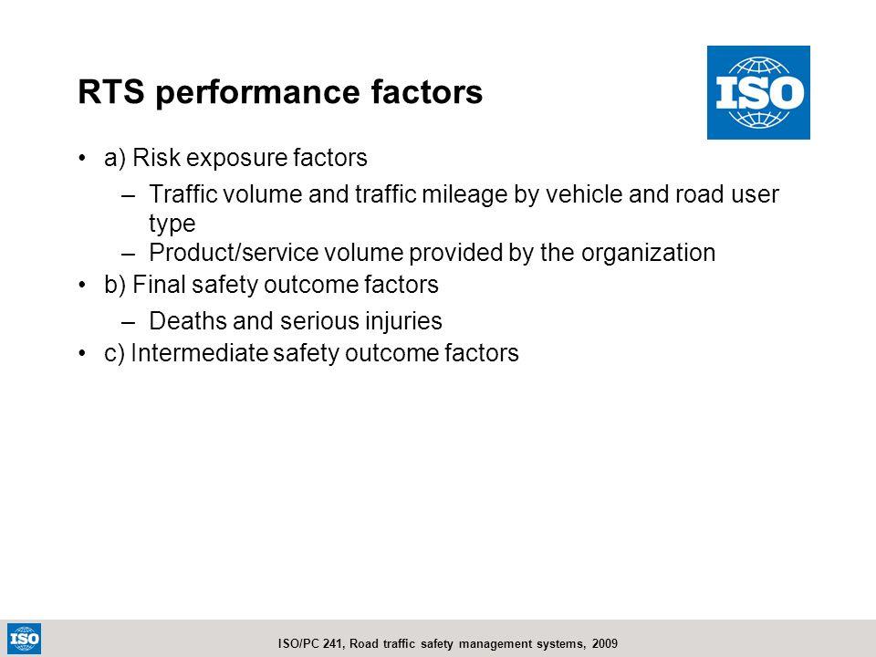 RTS performance factors