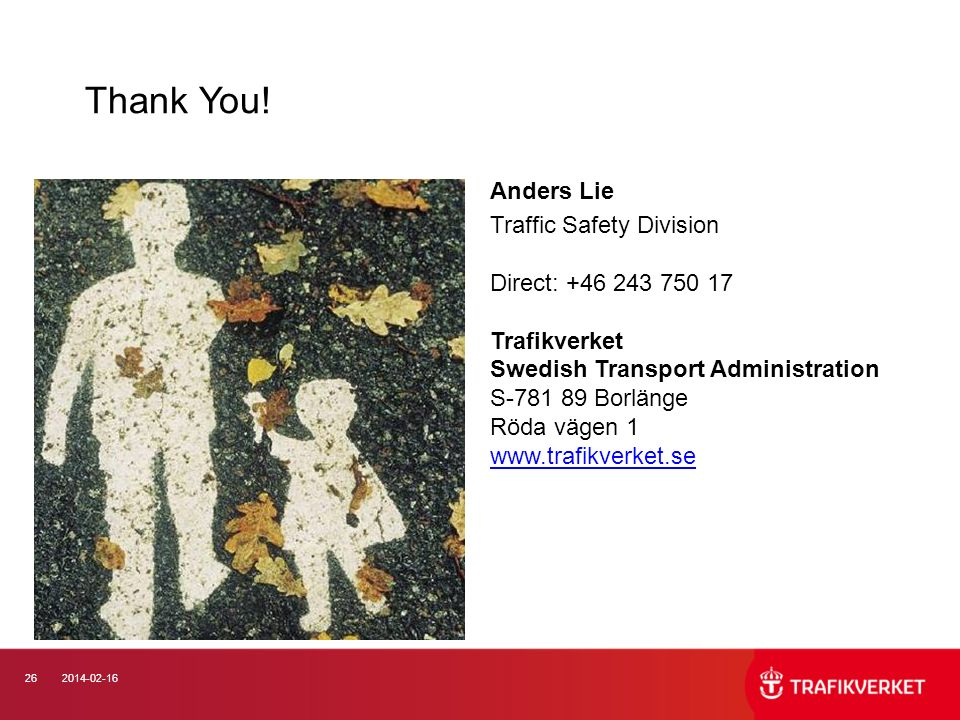 Thank You! Anders Lie.