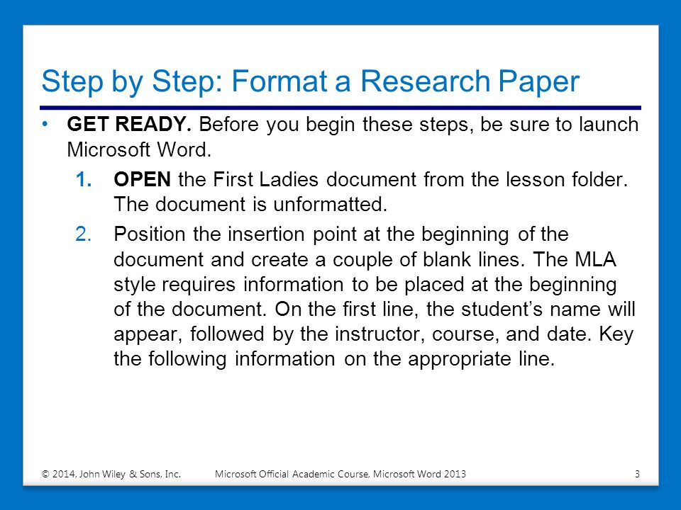 show me a format of a research paper The following outline shows a basic format for most academic papers if a research paper, use strong evidence from sources—paraphrases, summaries, and.