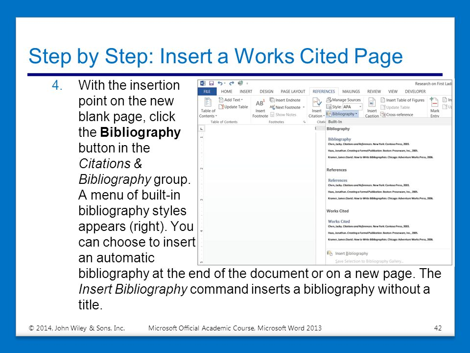 how to work in word step by step