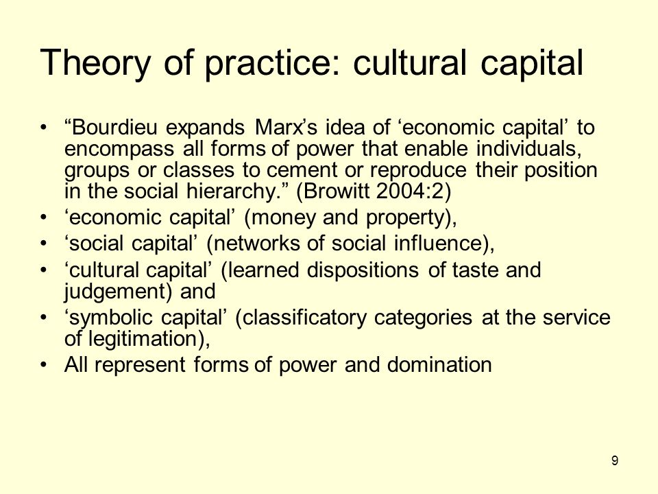 bourdieu and social class within the Pierre bourdieu (1930–2002) was of social life and dictated one's position within the social order for bourdieu and tastes in art to their social class.