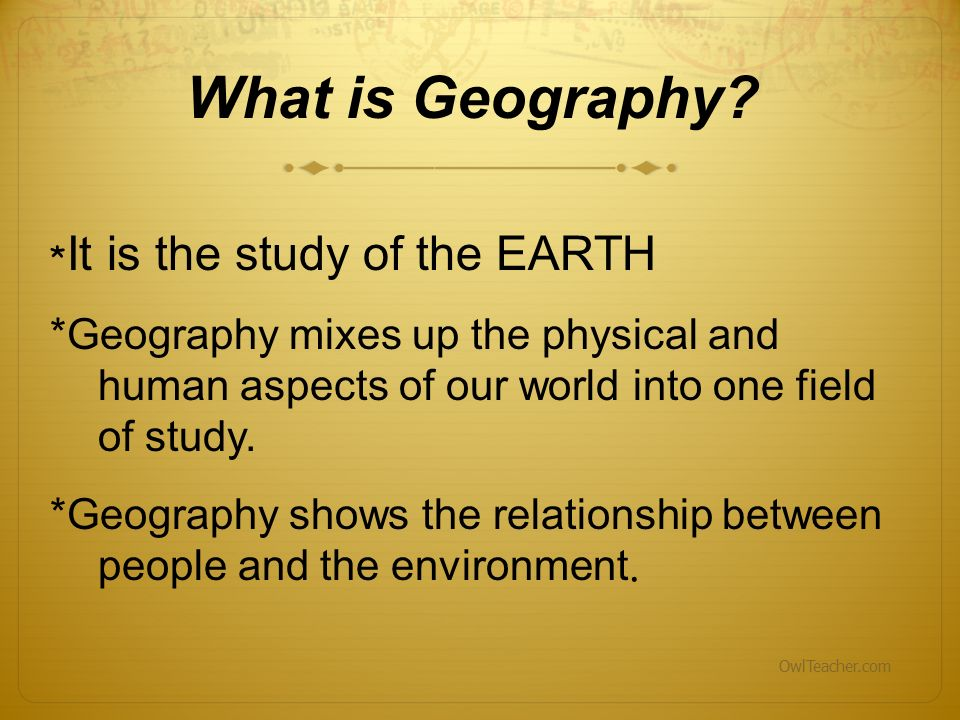 explain the relationship between sociology and geography