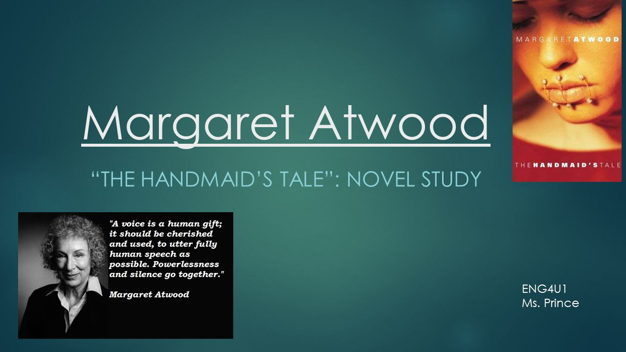 An in depth analysis of margaret atwoods novel the handmaids tale