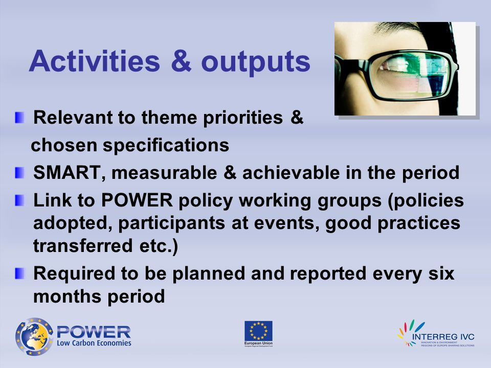 Activities & outputs Relevant to theme priorities &