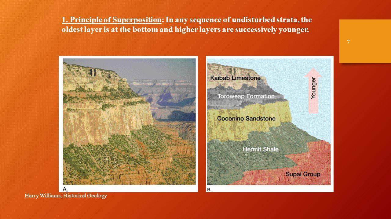 Stratigraphy historical geology study