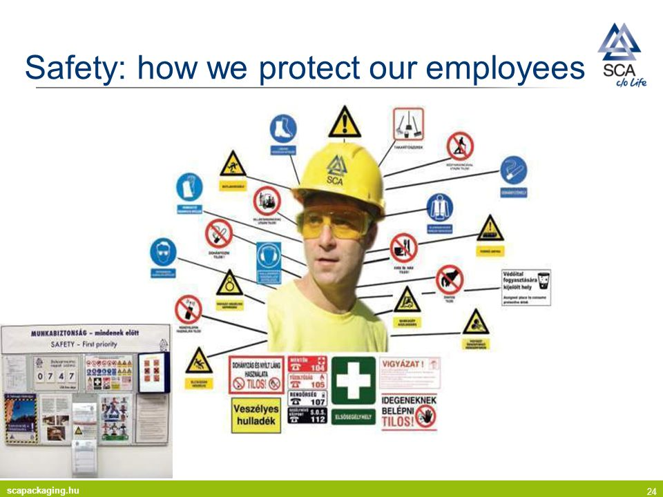 Safety: how we protect our employees