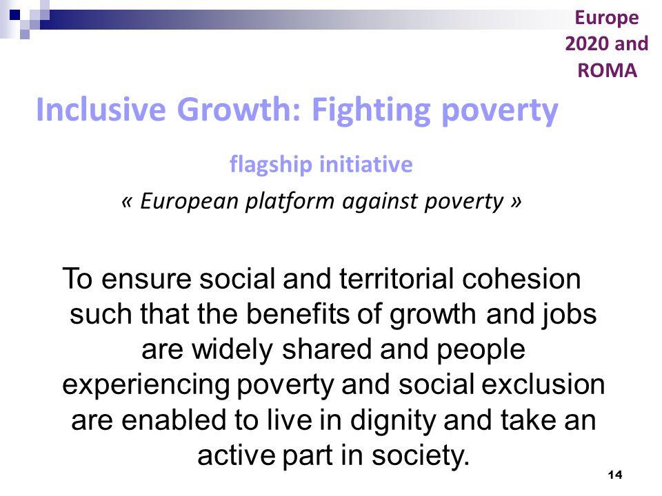 « European platform against poverty »