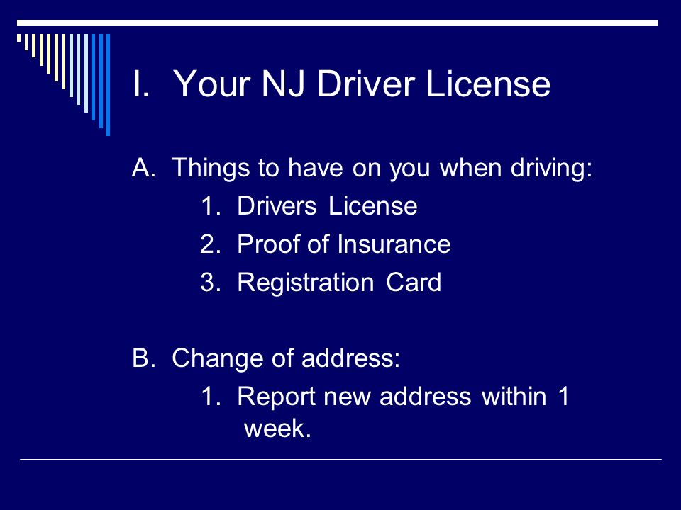 Address Change Driver License  The Best Driver In