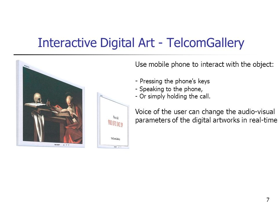 Interactive Digital Art - TelcomGallery