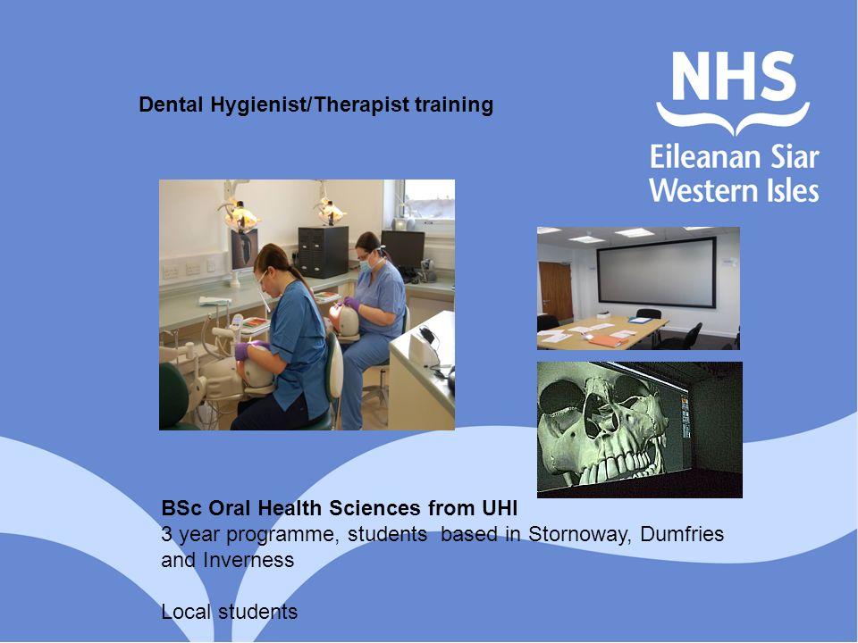 Dental Hygienist/Therapist training