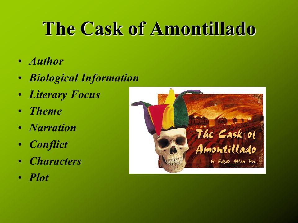 the mask of amontillado